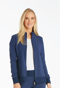 Zip Front Warm-Up Jacket (CK303-NAV)