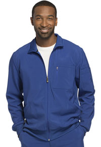 Cherokee Men's Zip Front Warm-up Jacket Galaxy Blue (CK305A-GAB)