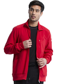 Infinity Men's Zip Front Jacket (CK305A-RED) (CK305A-RED)