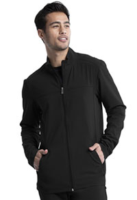 Cherokee Men's Zip Front Jacket Black (CK332A-BAPS)