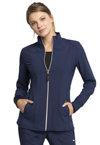 Statement Zip Front Jacket (CK365-NAV) (CK365-NAV)