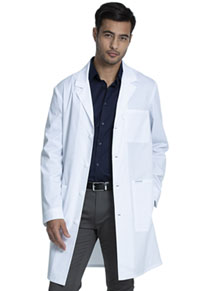 "Project Lab by Cherokee 38"" Unisex Lab Coat (CK460-WHT) (CK460-WHT)"