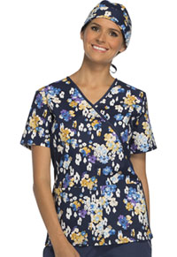 Cherokee Unisex Scrub Hat Bouquet Brilliance (CK500-BBBR)