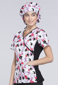 Cherokee Unisex Bouffant Scrub Hat Love On The Line (CK501-LOLN)