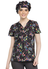 Cherokee Bouffant Scrub Hat One Piece At A Time (CK501-ONPI)