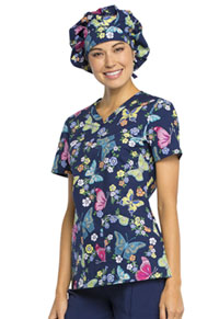 Cherokee Bouffant Scrub Hat Try Out Your Wings (CK501-TYWG)