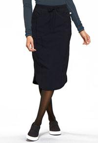 Cherokee Drawstring Skirt Black (CK505A-BAPS)