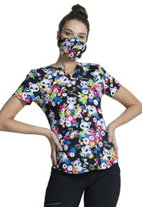 Cherokee Adult Reusable Face Covering Stay Curious (CK511-STCU)