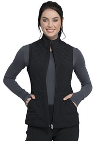 Cherokee Reversible Quilted Vest Black /Royal Combo (CK530A-BLRY)