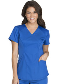 Cherokee Mock Wrap Top Royal (CK603-ROYV)