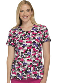 Cherokee Round Neck Top Front Of The Line (CK609-FTLN)
