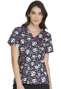 Cherokee Mock Wrap Top Beary Caring (CK614-BBCA)