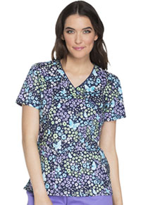 Cherokee Mock Wrap Top Love The Way You Fly (CK614-LVFY)