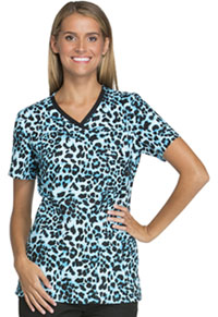 Cherokee V-Neck Top Wild You're At It (CK621-WIYU)