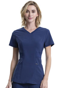 Cherokee V-Neck Top Navy (CK623A-NYPS)
