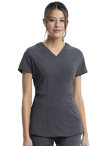 Cherokee V-Neck Top Pewter (CK623A-PWPS)