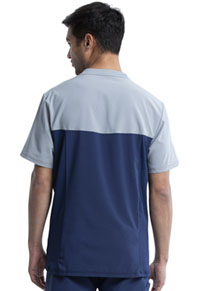 Cherokee Men's Colorblock Crew Neck Top Navy (CK630A-NYPS)