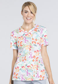 Cherokee V-Neck Top Springtime Love (CK646-SGLV)