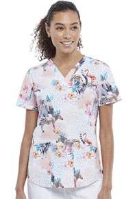 Cherokee V-Neck Top Safari Magic (CK652-SFMJ)