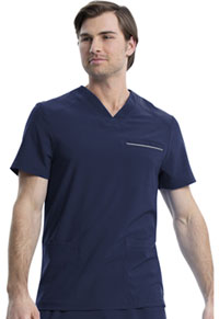 Cherokee Men's V-Neck Top Navy (CK661-NAV)