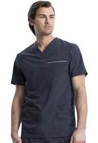 Cherokee Men's V-Neck Top Pewter (CK661-PWT)