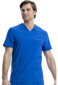 Cherokee Men's V-Neck Top Royal (CK661-ROY)
