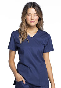 Cherokee V-Neck Top Navy (CK670-NAVV)