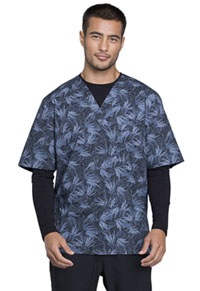 Cherokee Men's V-Neck Top Island Life (CK675-ISLI)