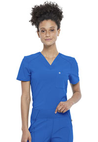 Cherokee Tuckable V-Neck Top Royal (CK687A-RYPS)