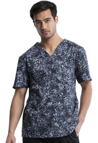 Cherokee Prints Men's V-Neck Top (CK692-INHW) (CK692-INHW)
