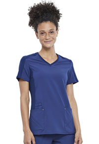 Cherokee V-Neck Top Navy (CK711-NAV)