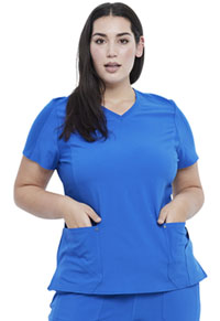 Cherokee V-Neck Top Royal (CK711-ROY)