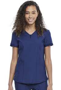Cherokee V-Neck Top Navy (CK723-NAV)