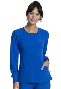 Cherokee Long Sleeve V-Neck Top Royal (CK781A-RYPS)