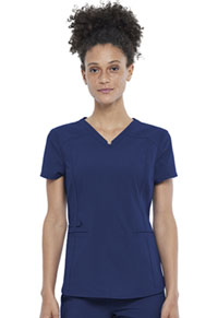Cherokee V-Neck Top Navy (CK798-NAV)