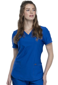 Cherokee V-Neck Top Royal (CK840-ROY)
