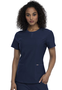 Cherokee Round Neck Top Navy (CK841-NAV)