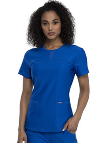 Cherokee Round Neck Top Royal (CK841-ROY)