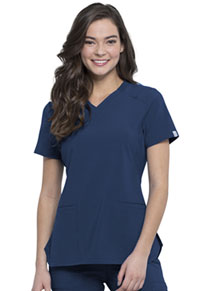 Cherokee V-Neck Top Navy (CK865A-NYPS)