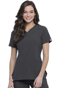 Cherokee V-Neck Top Pewter (CK865A-PWPS)