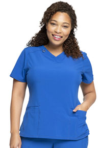 Cherokee V-Neck Top Royal (CK865A-RYPS)