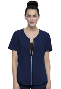Statement Zip Front Top (CK875-NAV) (CK875-NAV)