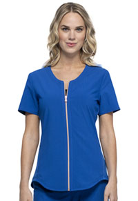 Statement Zip Front Top (CK875-ROY) (CK875-ROY)