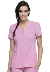 Statement Y-Neck Top (CK876-RBSM) (CK876-RBSM)