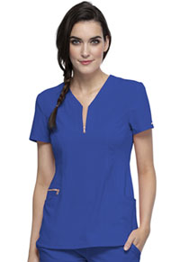 Cherokee Y-Neck Top Royal (CK876-ROY)