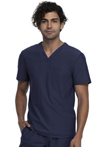Cherokee Form Men's Tuckable V-Neck Top (CK885-NAV) (CK885-NAV)