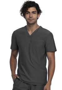 Cherokee Men's Tuckable V-Neck Top Pewter (CK885-PWT)