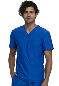 Cherokee Men's V-Neck Top Royal (CK885-ROY)