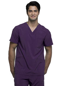 Cherokee Men's V-Neck Top Eggplant (CK900A-EGG)