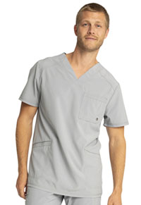 Infinity Men's V-Neck Top (CK900A-GRY) (CK900A-GRY)